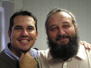 Me and Piotr Zhuk